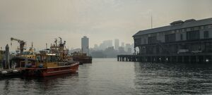 Millers Point Smog